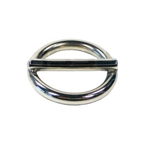 Ring met pin 20 mm.